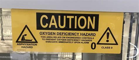 signs  oxygen deficiency hazards news