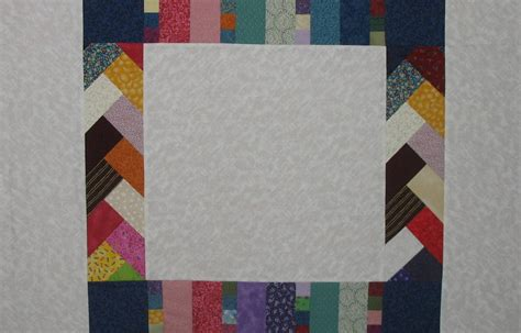 Patchwork Borders - robin borders in stitches
