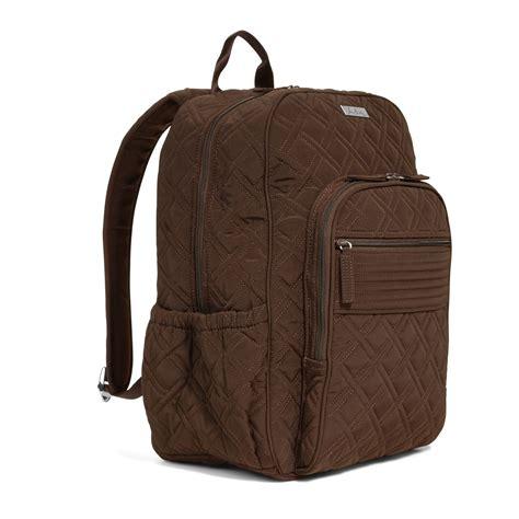 Vera Bradley Espresso Microfiber Boxy Tote by Vera Bradley Microfiber Cus Backpack Bag In Espresso Ebay