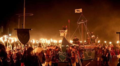 scottish theme event in nepal entertainment the annual viking themed fire festival up helly aa held in