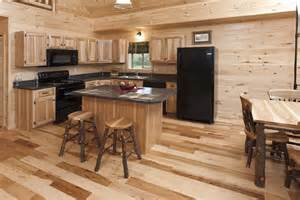 Which Wood Is Best For Kitchen Cabinets Log Cabin Kitchens With Modern And Rustic Style