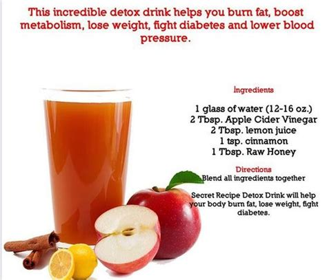 Caroline S Apple Cider Vinegar Detox Drink Recipe Reviews by Pin By Davis On Recipes