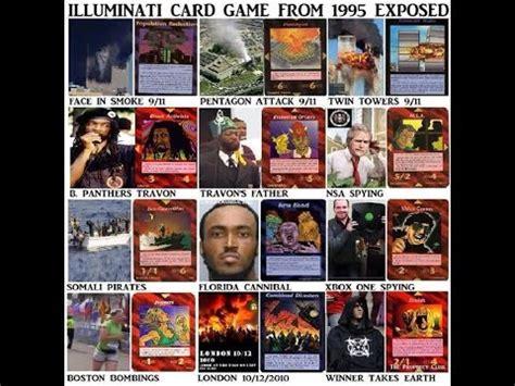 gioco carte illuminati illuminati card le carte prevedono il futuro