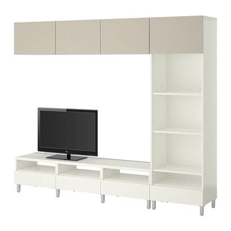 ikea besta tv storage combination ikea best 197 tv storage combination white vara beige