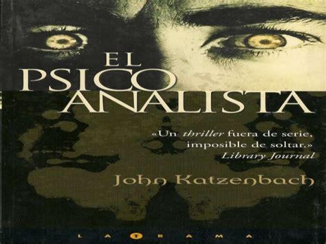 libro el psicoanalista libro el psicoanalista