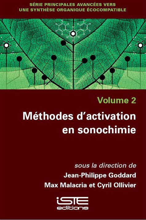 M 233 Thodes D Activation En Sonochimie Iste Editions