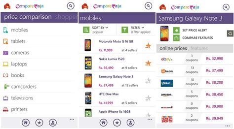 Surprising Prices On Windows Compare Compareraja Is A Great Price Comparison App For Indian
