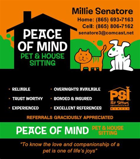 dog and house sitting peace of mind pet house sitting knoxville tn 37919 angies list