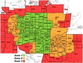 mesa arizona zip code map tts courier services coverage area serving the entire