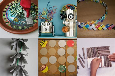 crafts from recycled items kid activities xlnt wish list to parents