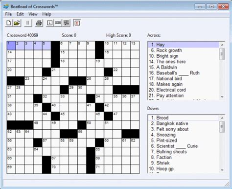 easy crossword puzzles boatload boatload of crosswords game free download