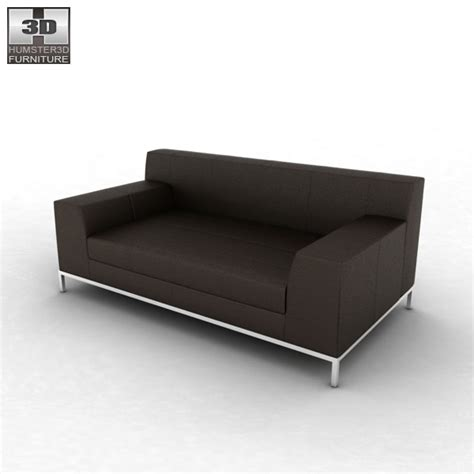 ikea kramfors two seat sofa 3d model hum3d