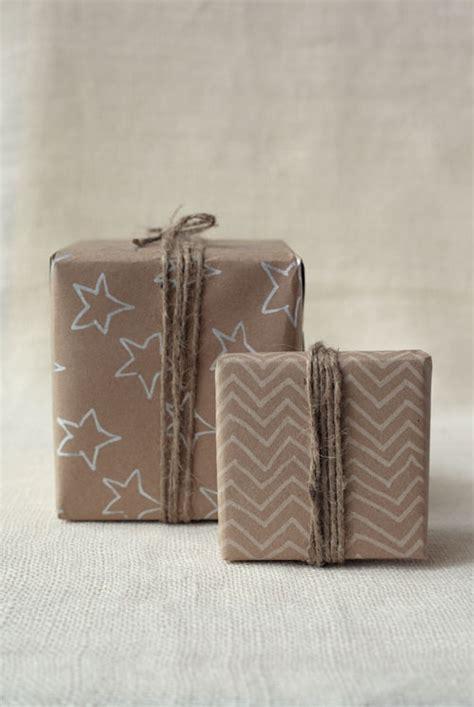 kraft gift wrap diy kraft paper gift wrap wit whistle