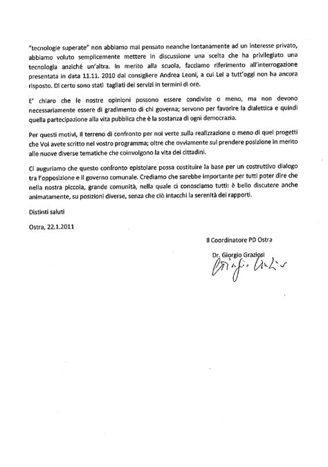 lettere di scusa associazione progetto ostra lettera di scuse pd ostra