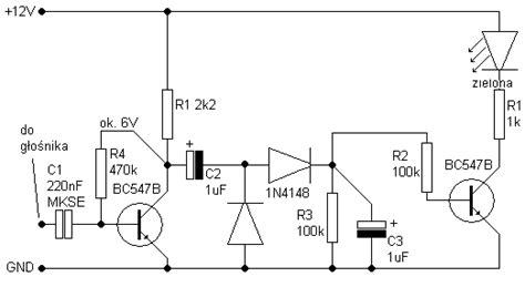 dioda w rytm muzyki faq led migająca w rytm muzyki elektroda pl