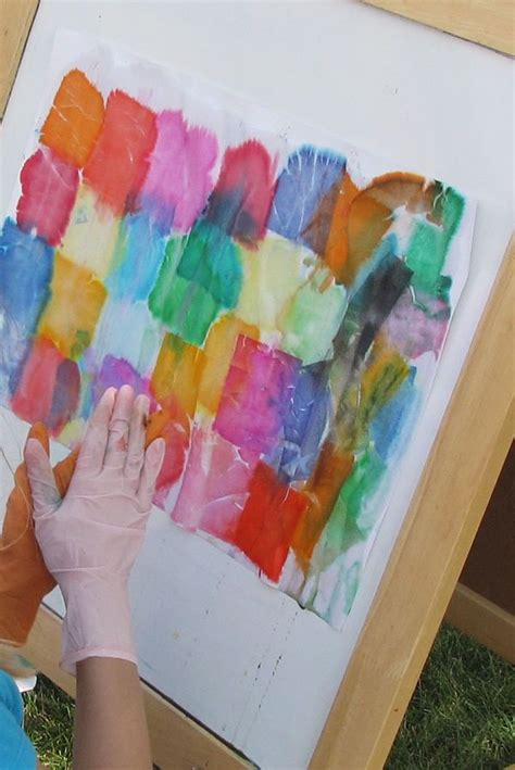 Arts And Crafts With Tissue Paper - 25 best ideas about tissue paper on