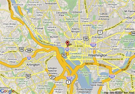washington dc rivers map map of river inn washington