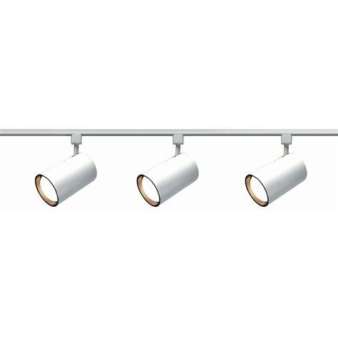 Nuvo lighting tk3 3 light straight cylinder track lighting kit atg