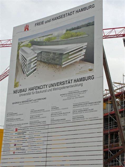 Baustellenschild Hamburg by Hafencity Iv Juni 2010 August 2015 Seite 25
