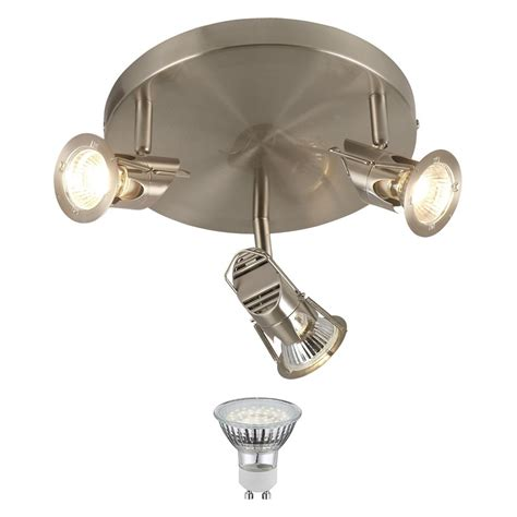 led ceiling spot light 15 watt spotlight adjustable silver