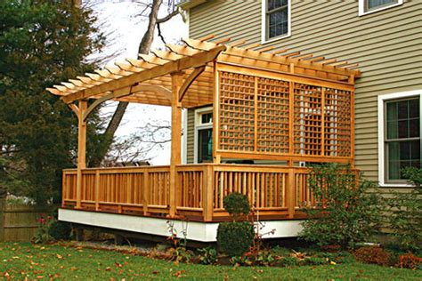 pergola for deck deck pergola no ap1 by trellis structures