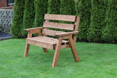 solid garden bench solid 2 seater wooden garden bench traditional design