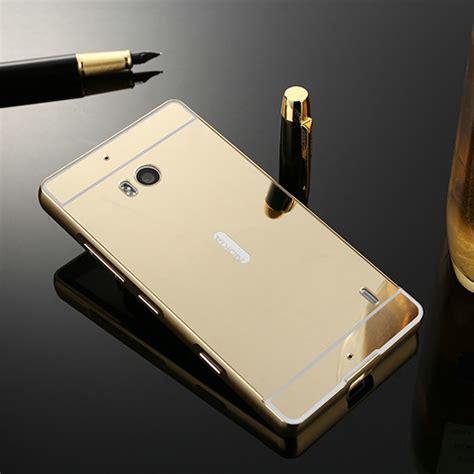 mirror back cover for microsoft nokia lumia 930 aluminum metal frame phone cases