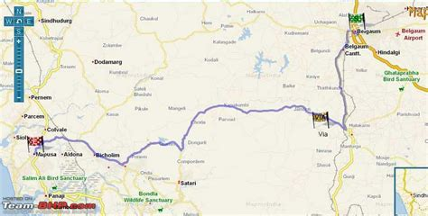 mapusa goa map bangalore goa route queries page 26 team bhp