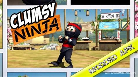 mod game ninja heroes android clumsy ninja mod apk v1 23 6 mod coins gems android