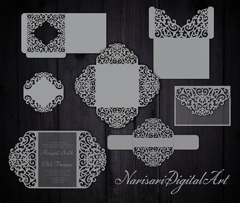 cricut card templates the 25 best cricut wedding invitations ideas on