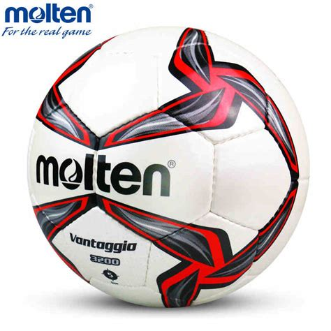 Bola Soccer Molten F5v5000 aliexpress buy original molten f5v3200 size 5 pu match professional football soccer