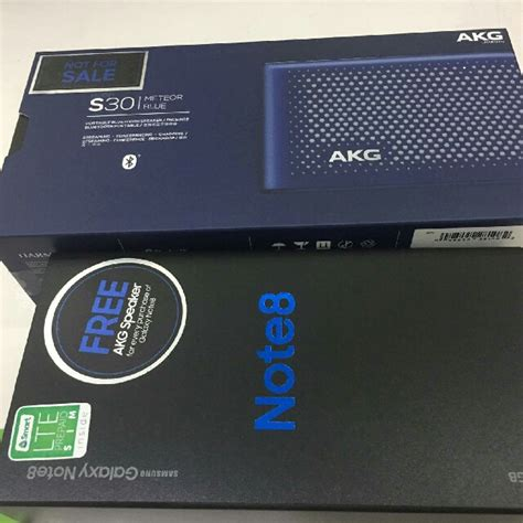 Akg S30 Blutooth Speaker for sale akg s30 bluetooth speaker from note 8 negotiable