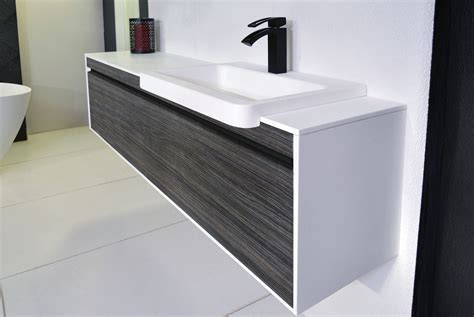 simplicity 1500mm offset wall hung vanity unit   Budget