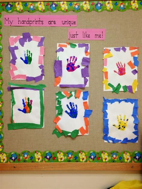 all about frames unique handprints tear construction paper to create frame