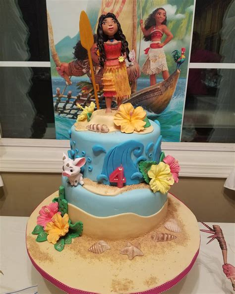 Easy Cake Decorating At Home by Moana Sugar Doll Cakecentral Com