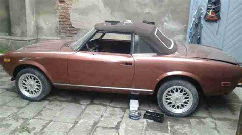 Oldtimer Lackieren Tschechien by Fiat 124 Spider Bj 1979 Neue Lack Neue Dach Topseller