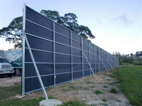 backyard noise barrier acoustifence noise barrier 18 foot wall pilgrims pride