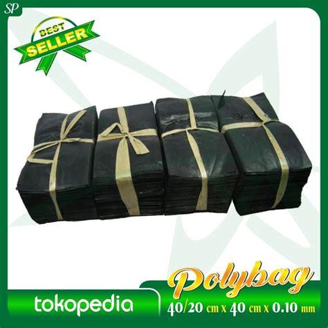 Polybag Ukuran 40 X 40 polybag 40 20cm x 40cm x 0 10mm sumber plastik