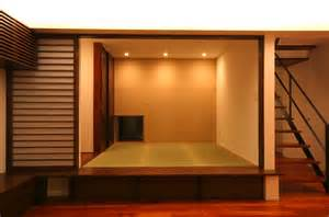 Japanese Style House Elevated Tatami Room Wasou