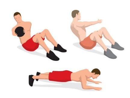 the cover model abs workout s health