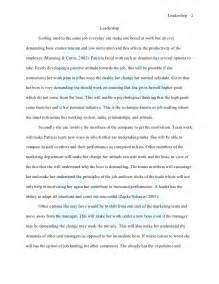 Leadership Sample Essay Prime Essay Writings Sample Leadership Essay