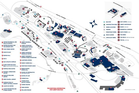 liberty university cus map liberty university cus map by liberty university issuu