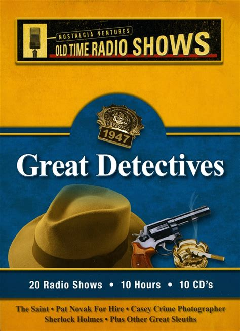 7 Great Radio Shows by Great Detectives Time Radio Shows