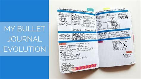 bullet journal tips my bullet journal evolution tips for beginners