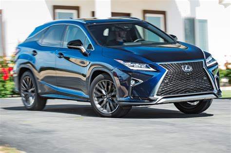 lexus rx 350 blue 2016 lexus rx 350 f sport first test review best seat in