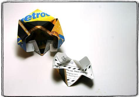 Metrocard Origami - metrocard dead programmer s cafe