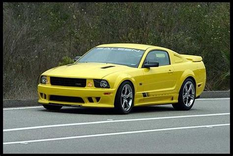 2005 Mustang Hp by 2005 Ford Mustang Saleen 281 550 Hp 6 Speed 2005 Saleen