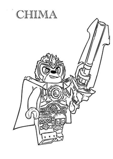 free chima coloring pages coloring home