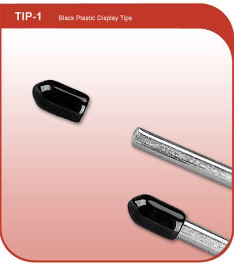 black plastic wire protectors