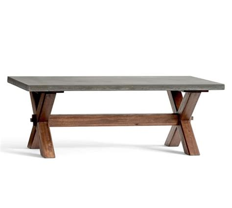outdoor accent tables clearance abbott rectangular coffee table pottery barn